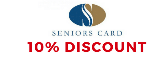 seniors card discount