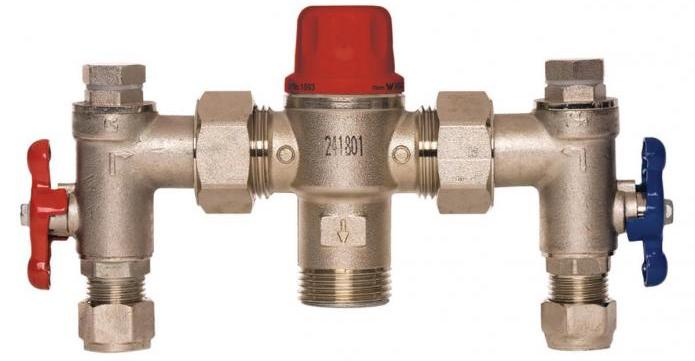 thermostatic mixing valves testing and installation